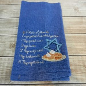 Latke Recipe Towel